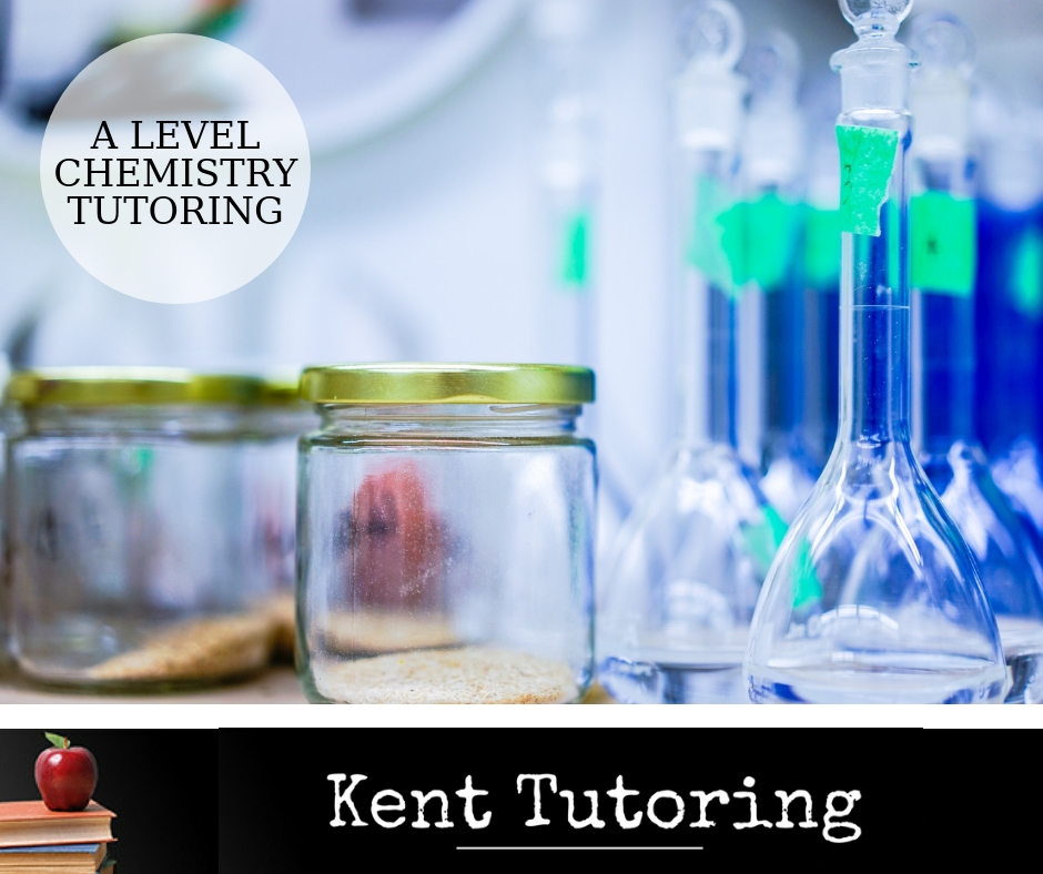 Promo Graphic, A Level, Chemistry, GCSE, Tutor, Tutoring, Revision, Rochester, Medway, Kent